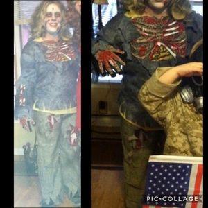 Zombie Apocalypse Halloween 🎃 costume